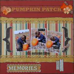 Pumpkin Patch using We R Maple Grove by Andra Hoffman