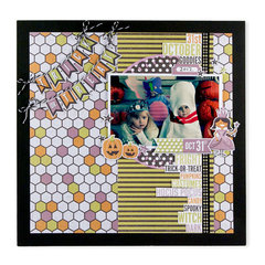 Trick or Treat featuring the Bewitched Collection from We R Memory Keepers