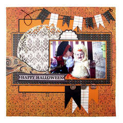 Happy Halloween featuring the Black Widow Collection from We R Memory Keepers