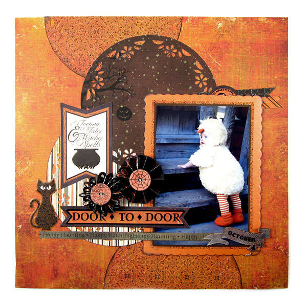 Door to Door Featuring new Mini 8 and the Black Widow Collection from We R Memory Keepers