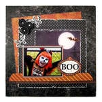 Boo featuring the Black Widow Collection from We R Memory Keepers