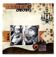 October 31st featuring the Black Widow Collection from We R Memory Keepers