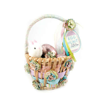 We R Cottontail Easter Basket