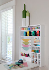 The New Fold Down Table from We R Memory Keepers As a Craft Table