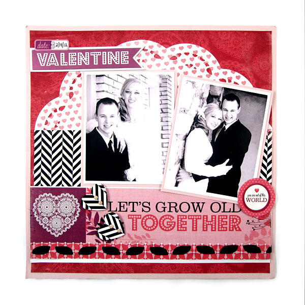 Let's Grow Old Together featuring Crazy for You by We R Memory Keepers
