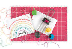 Dream Big featuring the new Sew Circle Tool from We R Memory Keepers
