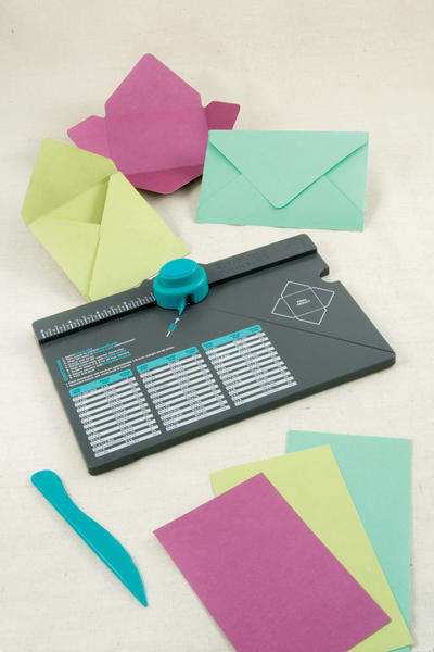 The New Envelope Punch Board from We R Memory Keepers