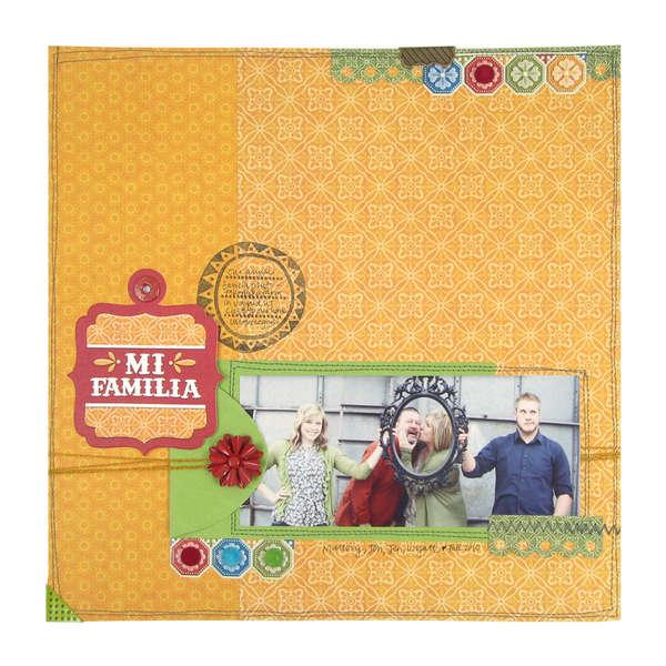 Mi Familia 12x12 Page
