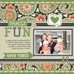 Family Fun using We R Memory Keepers Family Keepsakes