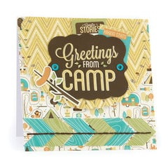 Greetings from Camp featuring Happy Campers from We R Memory Keepers
