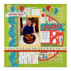 Birthday Bash featuring Hip Hip Hooray from We R Memory Keepers