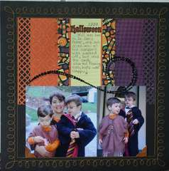 Halloween by Jamie Long Using We R Heebie Jeebie Collection