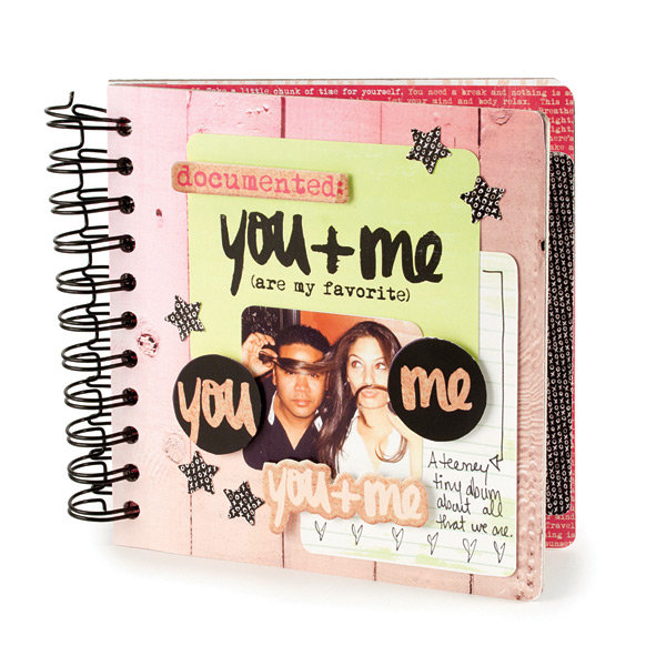 You + Me featuring Love Notes from We R Memory Keepers