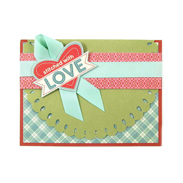 Stitched with Love Featuring new Mini 8 from We R Memory Keepers