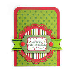 Merry Christmas using Peppermint Twist from We R