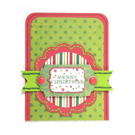 Merry Christmas featuring We R Sew Easy and Sew Stamper