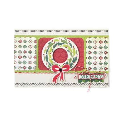 Merry featuring We R Memory Keepers Sew Stamper