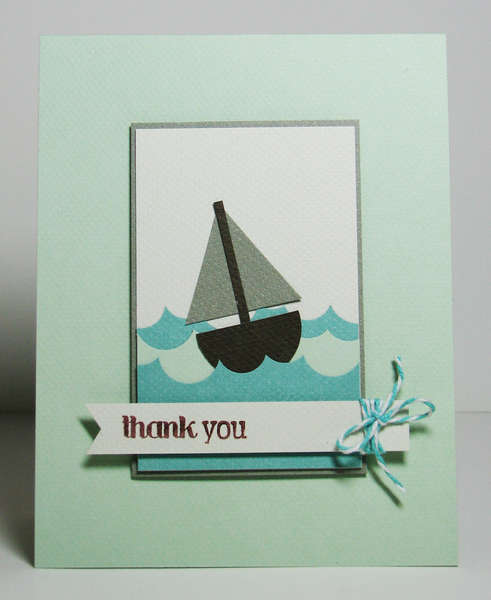 Thank You featuring the new Bakers Twine from We R Memory Keepers