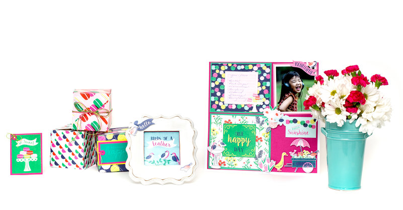 New Flower Girl Collection from We R Memory Keepers