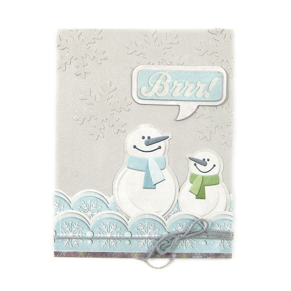 Brrr featuring Winter Frost from We R Memory Keepers