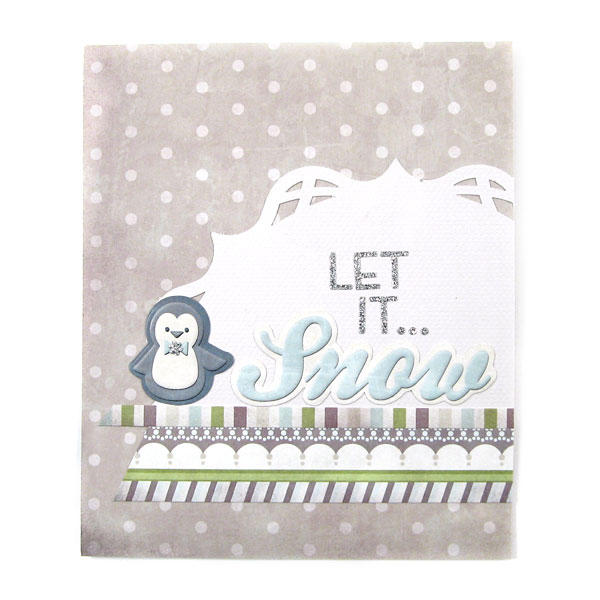 Let it Snow featuring Winter Frost from We R Memory Keepers
