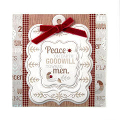 Peace on Earth Goodwill Toward Men