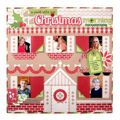 A Peek into Our Christmas featuring Yuletide from We R Memory Keepers