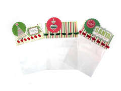 Holiday Gift Bags featuring We R Sew Ribbon