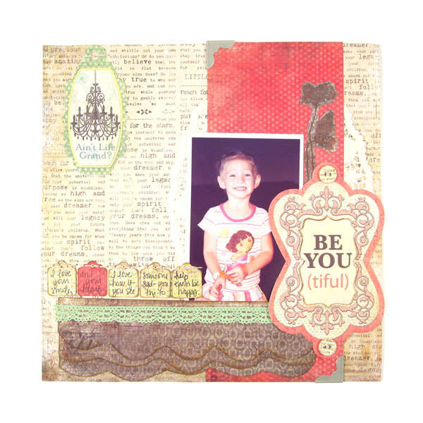 Be You (tiful) featuring Anthologie from We R Memory Keepers