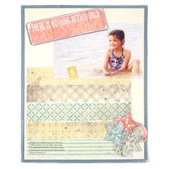 There is Nothing Better featuring On the Boardwalk from We R Memory Keepers