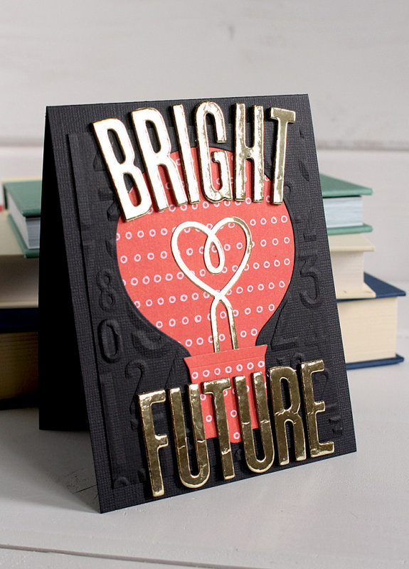Bright Future Graduation Card by Kimberly for We R