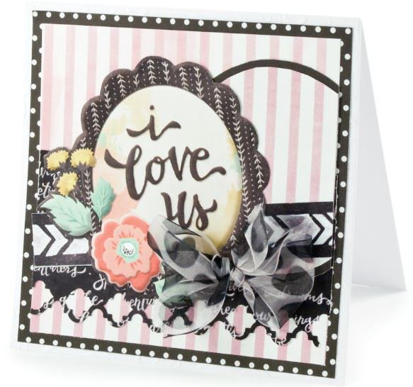 i love us Sweetness featuring the new Chalkboard Collection from We R Memory Keepers