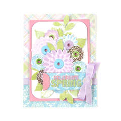 Celebrate Spring featuring the Cotton Tail Collection from We R Memory Keepers