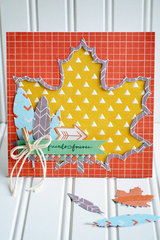 Fall Card with We R Memory Keepers