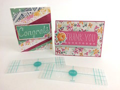 Easy Embossed Cards from Tracy Penrod