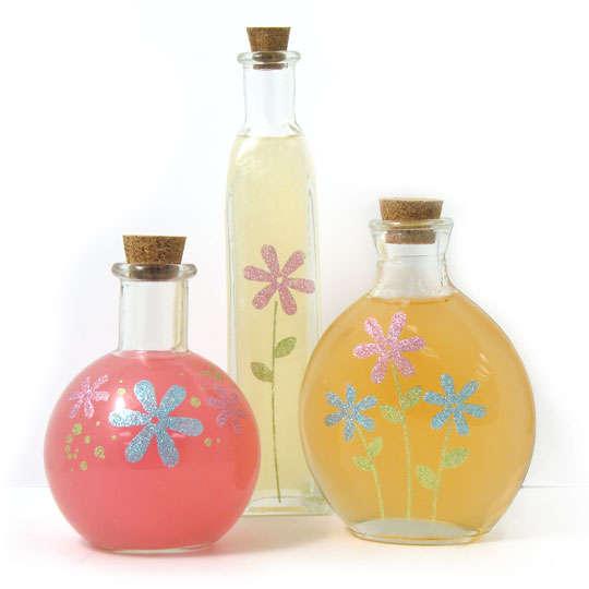 Glitter Bath Bottles