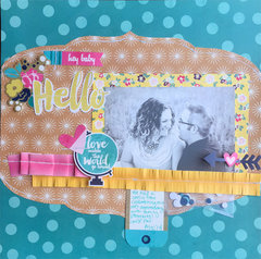 FUSEeables Layout by Jen McDermott for We R Memory Keepers