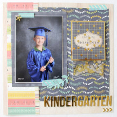 Kindergarten Graduation Layout by Laura for We R