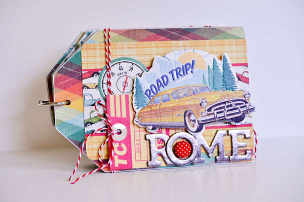 Tag Mini Chipboard Album