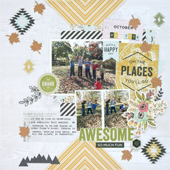 Oh, The Places You'll Go Layout