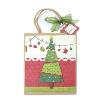 Peppermint Twist Gift Bag