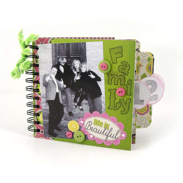 Retro Glam & Cinch Mini Book