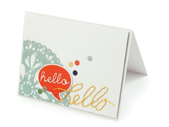 Hello using We R Sew Easy Templates