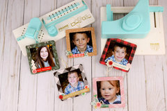 Christmas Photo Ornaments with Punch Boards!