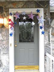 Patriotic Star Garland