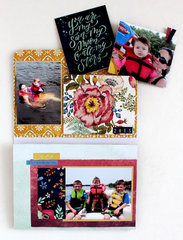 Add More Photos to a mini album with the Accordion Pocket Die