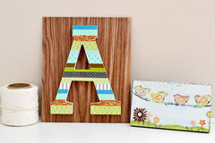We R Memory Keepers Washi Tape Letter Decor