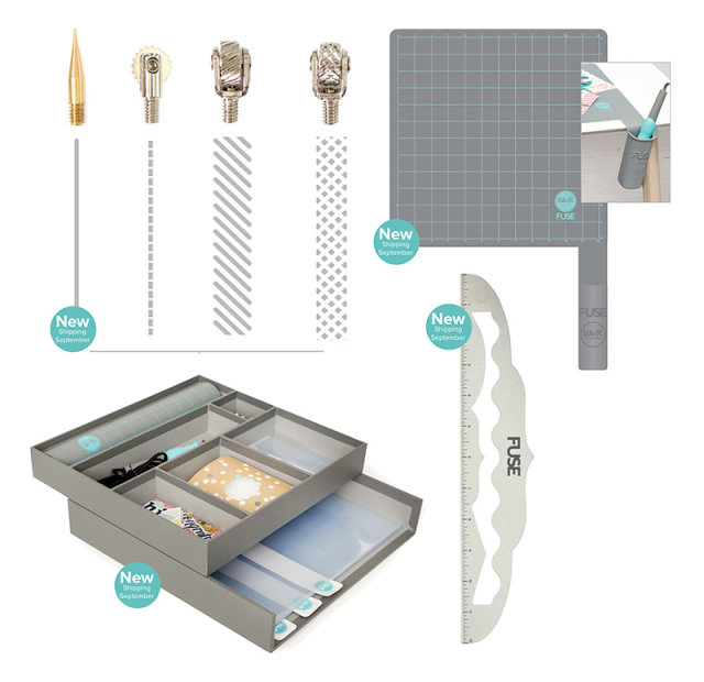 Have you tried the new Fuse Collection of Products and Accessories from We R Memory Keepers?