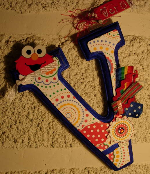 Elmo altered letter
