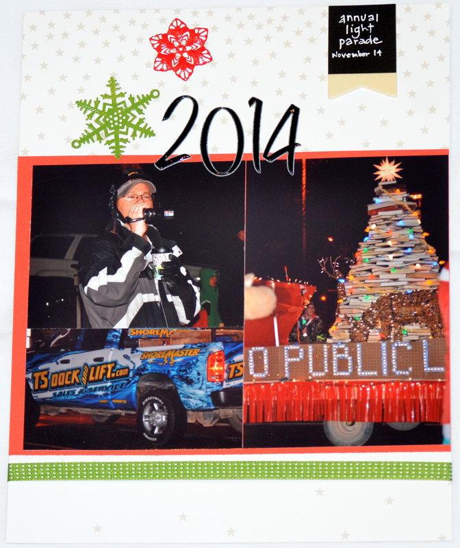 Holiday Light Parade 2014